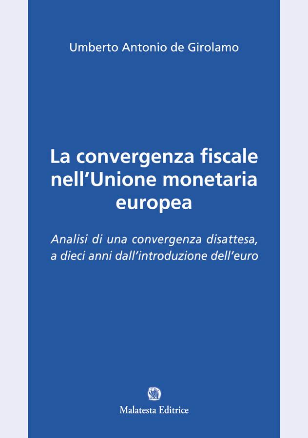 La convergenza fiscale nell